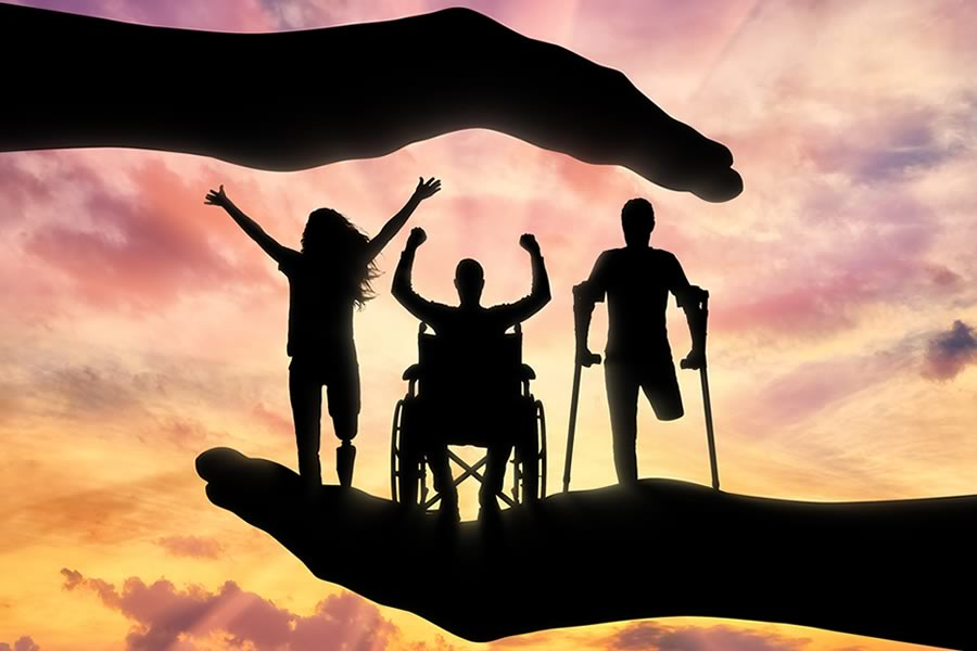 members of disability group